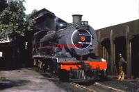 PHOTO  SOUTH AFRICAN RAILWAYS - A 14R CLASS 4-8-2 LOCO AT AT GINGINDLOVU. 24TH A
