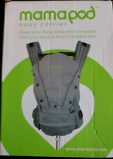 Mamapod Baby Carrier - gray cotton