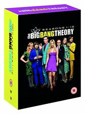 The Big Bang Theory Seasons 1 - 10 [31x DVD] NEU Staffel Season Komplette Serie