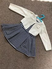 Girls Next Dress And Cardigan - Age 2-3 Years