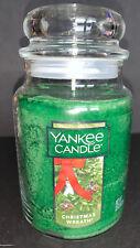 Yankee Candle CHRISTMAS WREATH 22 oz Large Jar Candle