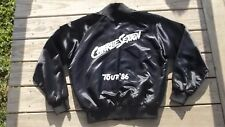 Original Vintage 80's CHARLIE SEXTON Tour Crew CONCERT JACKET rock Cat LARGE