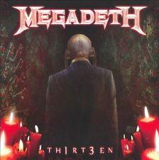 Th1rt3en Megadeth CD Set Sealed ! New ! 2011 Thirteen
