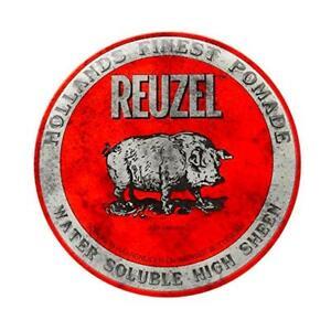 Reuzel Red Pomade 113g Water Soluble High Sheen - UK STOCKIST