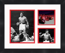 Muhammad Ali vs Sonny Liston black framed collage picture 11X14 Frames By Mail