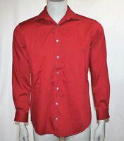 Kenneth Cole Reaction Mens Long Sleeve Button Up Dress Shirt Sz M 15 1/2  32-33
