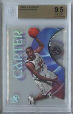 Vince Carter 1998 99 E-X century #89 Toronto Raptors RC rookie BGS 9.5