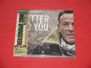 BRUCE SPRINGSTEEN E Street Band Letter To You JAPAN CD