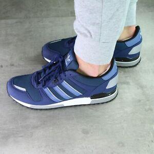 adidas Originals ZX 700 Sneaker Schuhe Herren Damen Dunkelblau FX6968