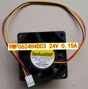 San Ace60WF A90L-0001-0508 9WF0624H4D03 24V FANUC equipment 3PIN cooling fan