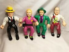 Vintage 1990 Playmates Dick Tracy Action Figure Lot of 4