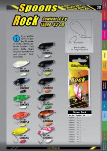 FTM Spoon Forelle  Rock Fishing Tackle Max  versch.Größen und Farben
