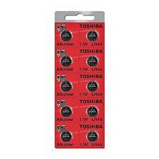 Toshiba LR44 AG13 Alkaline 1.5 Volt Batteries, 500 pcs