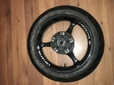 suzuki gsxr 600 750 k6 k7 rear wheel with hardly used tyre