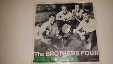 """THE BROTHERS FOUR Greenfields / Angelique-O COLUMBIA 41571 NM 45 7"""" VINYL PS"""