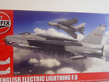 English Electric Linghtning F.6 - Airfix Flugzeug Bausatz 1:72 - 05042  #E