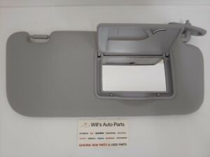 GENUINE BRAND NEW SUNVISOR RH SUN VISOR GREY COLOR   HYUNDAI GETZ 2002 - 2011
