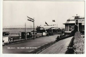 A Frith's Real Photo Post Card of The Front, New Brighton. Wirral, Cheshire.