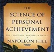 The Science of Personal Achievement by Napoleon Hill Audio Book 1 x MP 3 CD