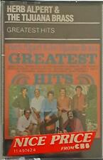 Herb Alpert & The Tijuana Brass Greatest hits Mc Cassette Tape Sealed No Barcode