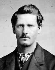 New 8x10 Photo: Sheriff, Marshal and Gambler Wyatt Earp, American Old West