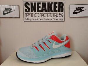 Nike Ws Air Zoom Vapor X - AA8027 402 - Still Blue / Crimson - White - 7.5 NEW