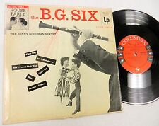 """BENNY GOODMAN THE B.G. SIX COLUMBIA 10"""" LP"""