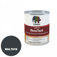 Caparol Capadur RenoTech (RAL 7016 Anthrazitgrau) 0,75l - Wetterschutzfarbe