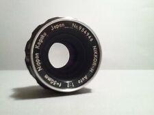 Nikon Nikkor-H 5cm 50mm f/2 Nippon Kogaku Prime Lens/non Ai