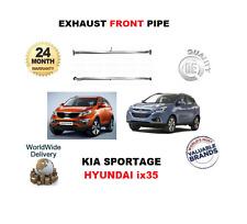 pour Kia Sportage 2.0 CRDI HYUNDAI IX35 2.0 CRDi ECHAPPEMENT AVANT TUBE