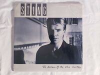 Vintage Sting The Dream Of The Blue Turtles  LP RCA 1985 First Press Shrinkwrap