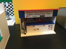 NEW - BTCC 1:32 Scale Merchandise Hut Building in Scalextric Carrera SCX - NEW