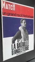 Revista Dibujada París Match Batalla D de Inglaterra N º 910 Septiembre 1966 ABE