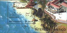 Nicaragua Blocco 182 (completa Edizione) usato 1989 Turismo