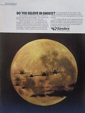 3/89 PUB LOCKHEED SANDERS INTEGRATED ELECTRONIC WARFARE SYSTEM F-18 AIRCRAFT AD