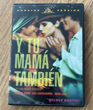 Y Tu Mama Tambien (Dvd, 2002, Unrated) Preowned Lnc W/ Movie Insert