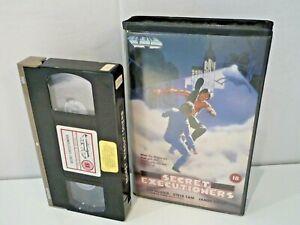 Secret Executioners (1980s VHS Clamshell Big Box Ex Rental VPD)Rare Martial Arts