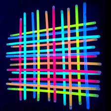 100 pcs Halloween Glowing Party Light Stick home Decor Fluorescent Camping Stick
