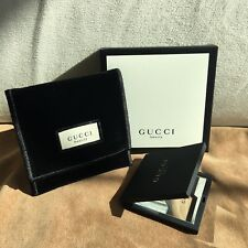 GUCCI BEAUTY COMPACT MAKE UP / POCKET MIRROR WITH VELVET POUCH New in Box