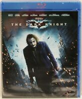 The Dark Knight ~ Christian Bale Heath Ledger Cane Batman Movie Blu-ray Disk