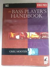 The Bass Player's Handbook by Greg Mooter Berklee Press Hal Leonard Soft Cover