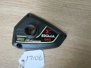 Shakespeare Sigma 040 fishing reel Plate made in Japan (lot#17108)