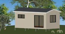 Studio Granny Flat DIY Kit - The Backyard Escape Studio with chassis CGI Walls