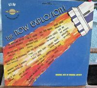 "Adam VIII Now Explosion 12"" Vinyl LP Record Original Hits Artists 1974 Soft Rock"