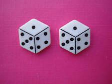 Bluebubble Lucky Casino Dice Earrings Cool Vegas Kitsch Cute Retro Novelty Fun