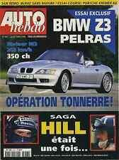 AUTO HEBDO n°1057 du 23 Octobre 1996 KREMER WSC K8 BMW Z3 PELRAS PORSCHE 911 S