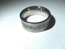 Ring Edelstahl Edelstahlring Tribal 19,1 mm Gr. 60 NEU