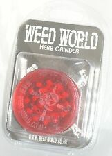 Weed World [ Colour: Red ]  Herb grinder