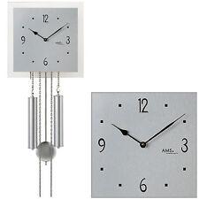 AMS Horloge à pendule murale mécanique Accueil Aluminium Jésus-coup NEUF