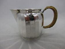schönes Art Deco Sahne / Milchkännchen Silber 835 punziert